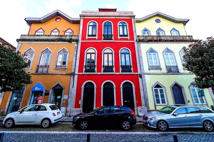 Afonso Henriques - Loft c/ varanda e vistas