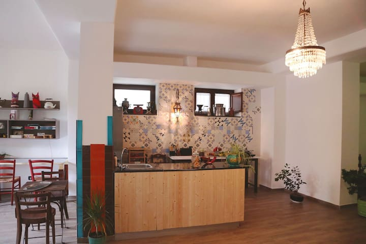Little cooking area