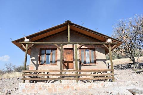 Hermosa Cabaña Rústica para 4 personas