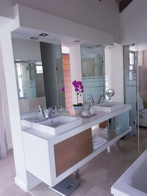 His and Her basins