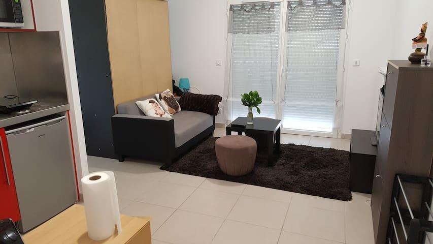 Appartement très calme dans résidence neuve - Seyssins - Apartamento