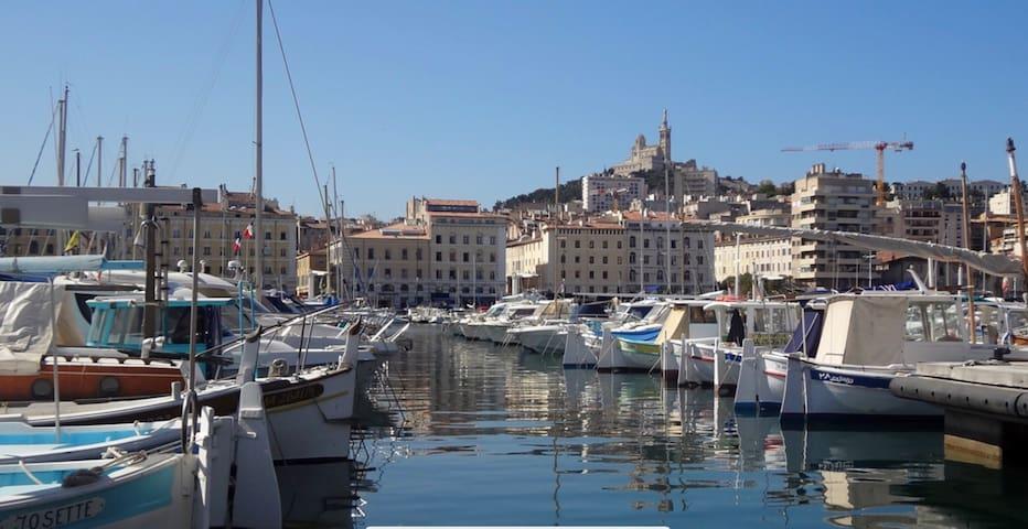 Tres beau T2 Vieux Port devant l'intercontinental