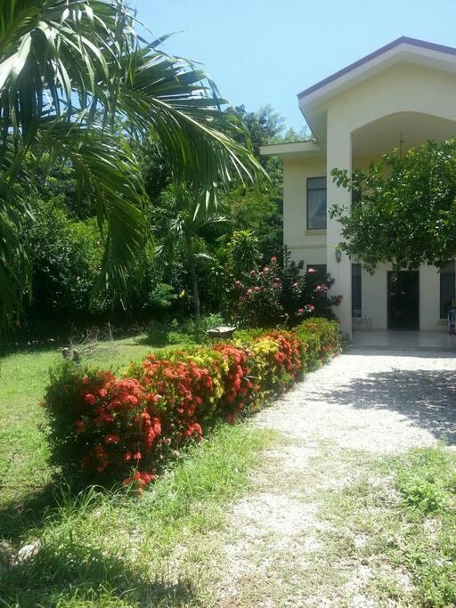 House entrance.
