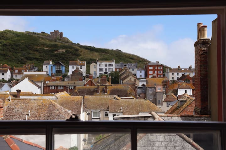 HISTORIC PENTHOUSE FLAT, HASTINGS. - Hastings - Apartamento