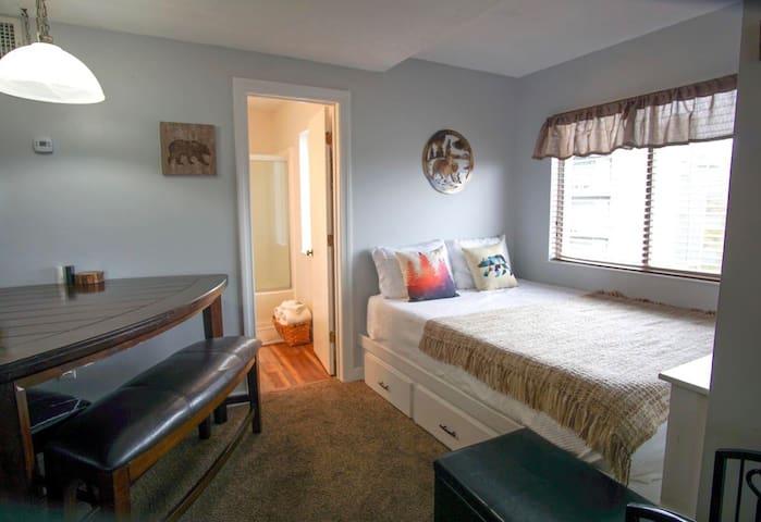LIVING ROOM QUEEN BED