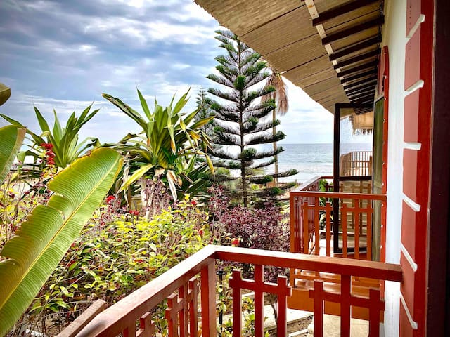 Casa frente al mar, Manglaralto - Ecuador