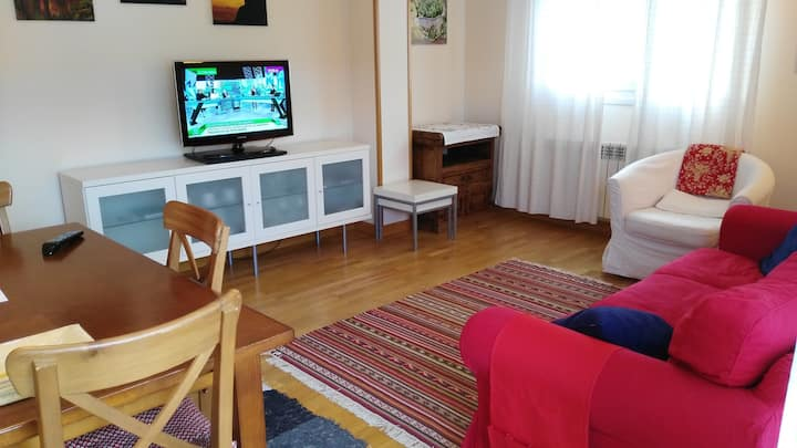Lovely apartment with WiFi, terrace, garage