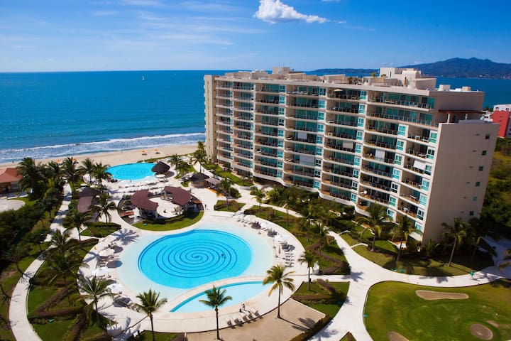 Beautiful 3b.Spectacular ocean view - Nuevo Vallarta - Condominium