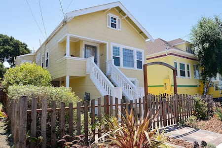 Beautiful & Comfy Alameda 2 BR