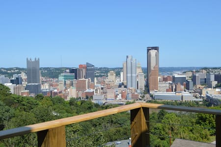 Pittsburgh Skyline Views - Luxury 1 Bedroom