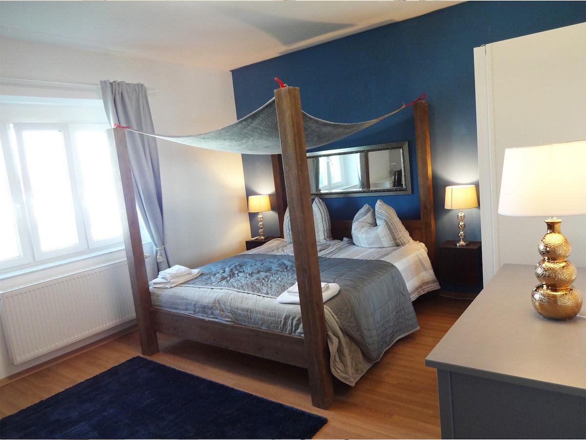 Das Luxus Schlafzimmer Mit Himmelbett