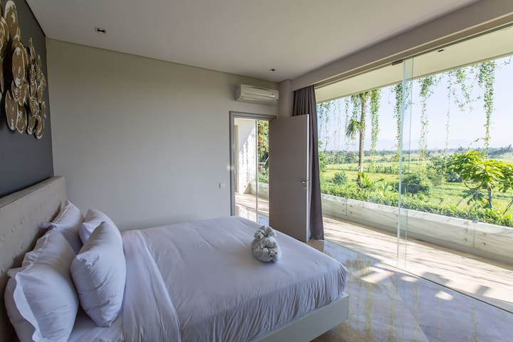 NEW DEAL! Romantic Getaway ❤️ 1br RiceField View