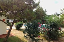 4 casas con jardín y piscina (nº4 - 1 baño)