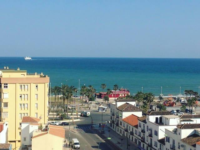 Habitación individual con vista al mar - Málaga - Appartement