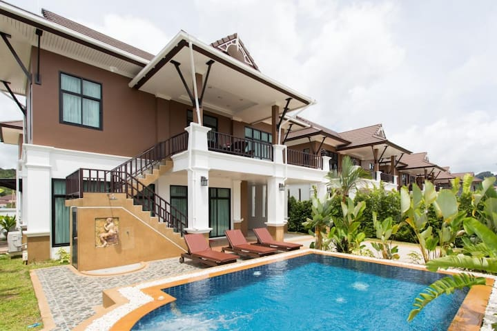 The Unique Krabi Pool Villa - Ao Nang - Hus
