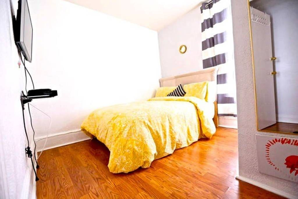 Your Room: Beddings might change due to laundry...