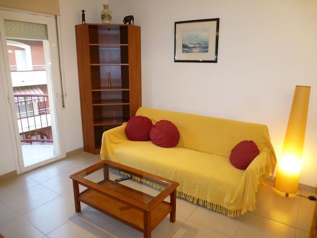 Pequeño apartamento muy bien amueblado y equipado - La Bisbal d'Empordà - Apartamento