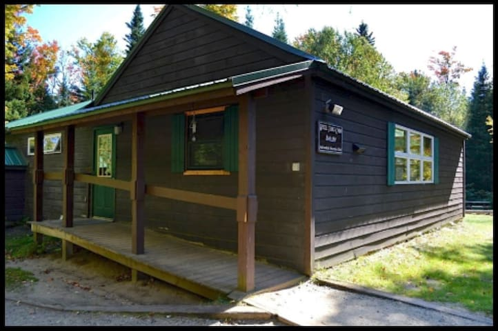 Large cabin next to the Adirondack High Peaks