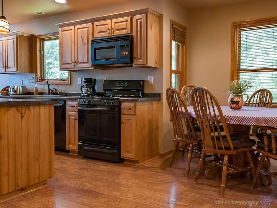 Fully Equipped Deluxe kitchen