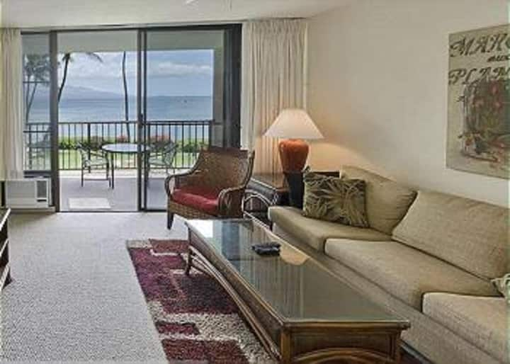 MB202 - South Maui Oceanfront Condo with Spectacular Ocean Views; 1BR/1BA