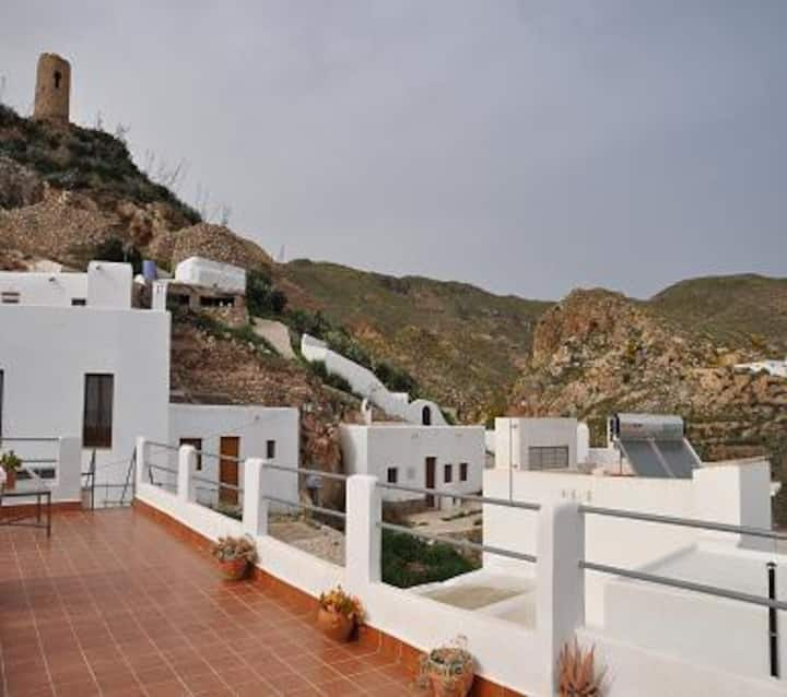 Preciosa casita en el Cabo de Gata