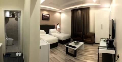 قصر السراة للأجنحة الفندقية ( غرفة ديلوكس مزدوجة )