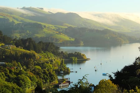 Stunning Views, Wildlife, Tranquil Retreat - Port Chalmers - Aamiaismajoitus