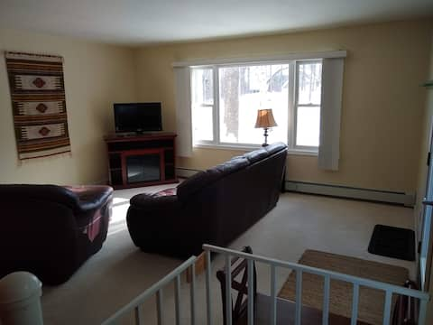 2 story apartment - country feel, city convenience