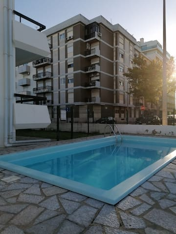 """Cozy Holiday Apartment """"Monte Verde Apartment Ground Floor"""" with Air Conditioning, Balcony, Shared Pool & WiFi"""