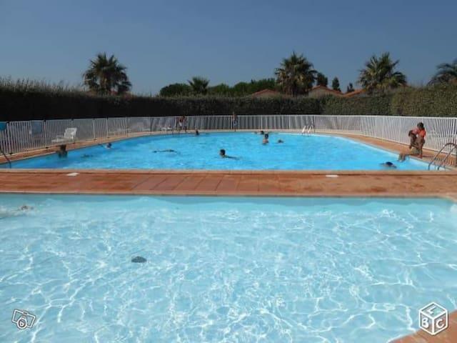 Toreilles plage piscine wifi ancv clim animaux