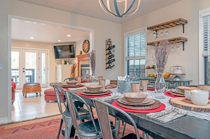 31 day+rental avail for holidays!WineCountryEscape