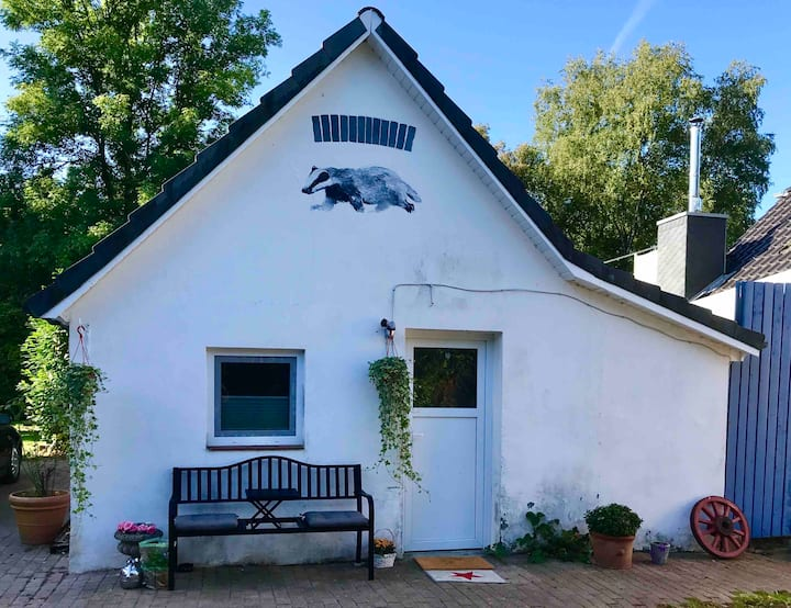 Kleiner Dachsbau östlich von HH: ruhig & naturnah