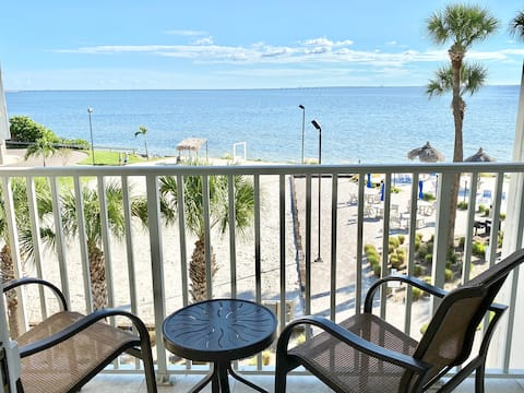 319-HEATED POOL! Oceanfront Views! By TPA Airport!