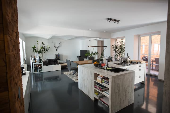 Designer LOFT/Apartment am Augarten