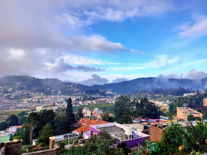 Ooty Home with a City View