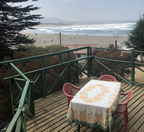 Ritoque cabaña de playa a metros del mar