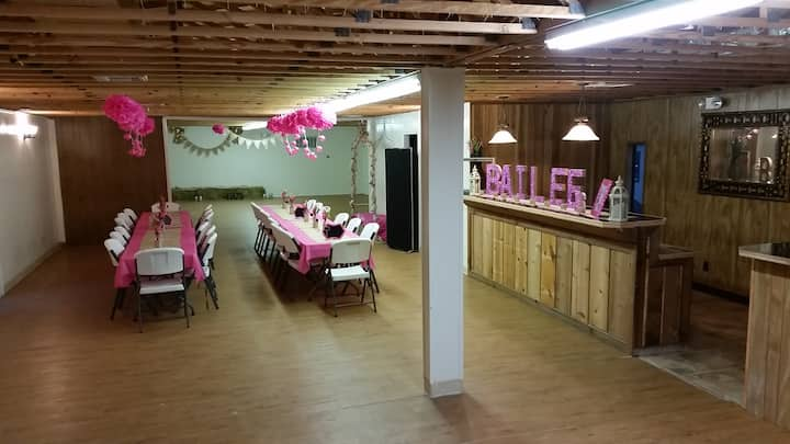 EVENT HALL AT TALL TIMBERS RETREAT!