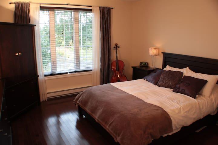 Maison accueillante à Alma, Saguenay Lac-St-Jean - Alma - Rumah
