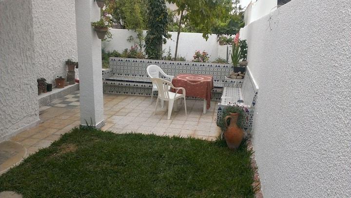 S+2 rez de jardin avec terrasse