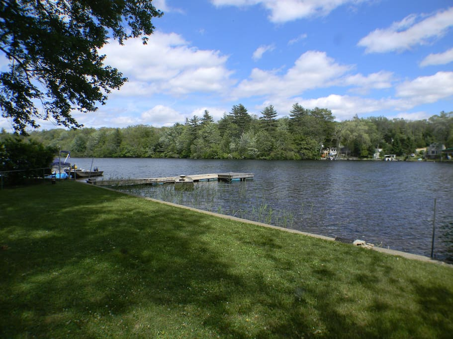 Access to dock and 325 acre lake