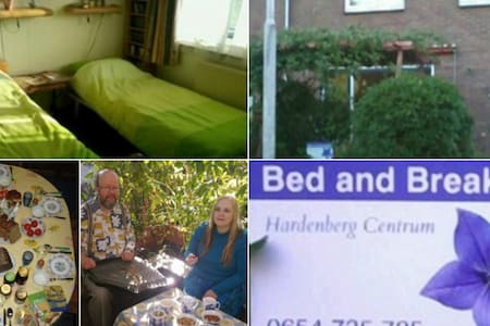 Bed and Breakfast Hardenberg Centrum - Hardenberg - Oda + Kahvaltı