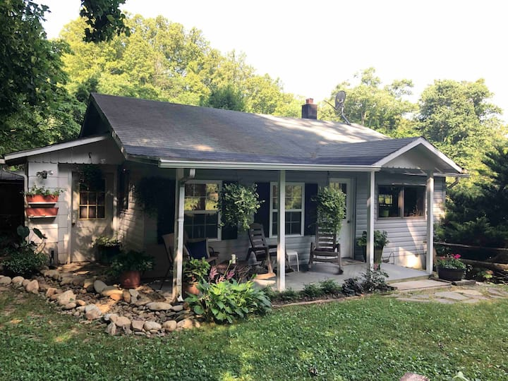 Private and beautiful home in Asheville area.