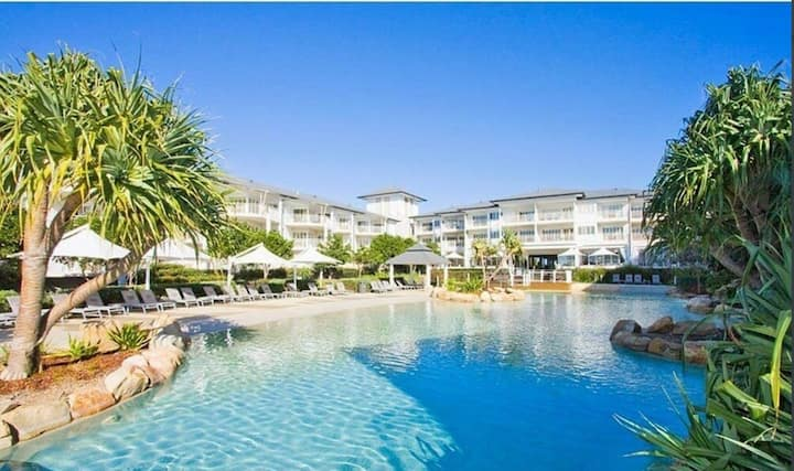 Kingscliff Apartment in Resort on the Beach