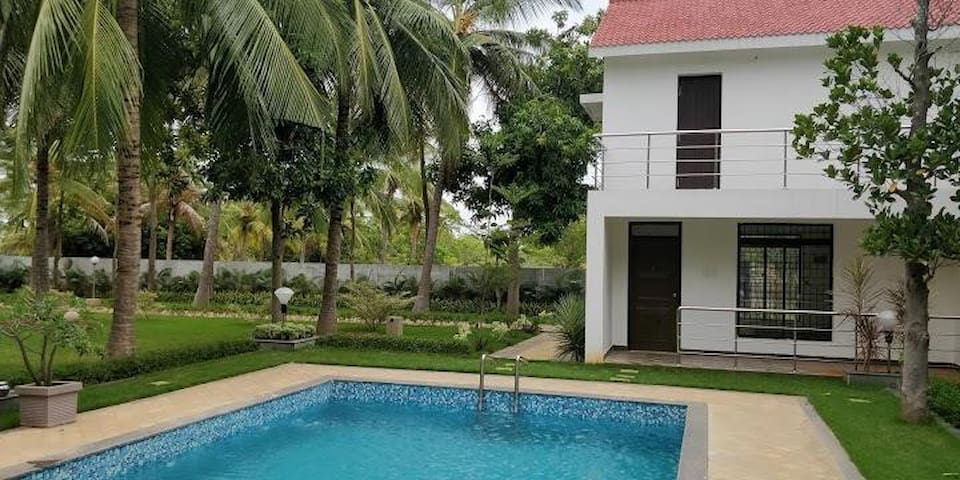 Farm House Private Family Gateway -  Swimming pool