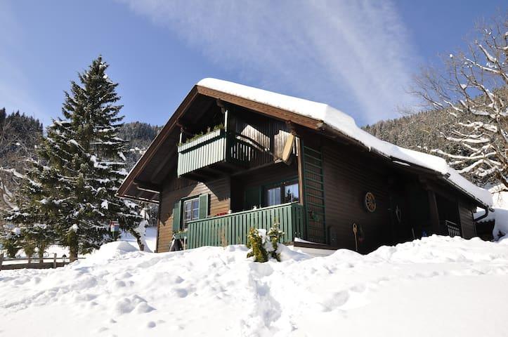 Bodentalhütte - Almchalet mit Sauna auf 1.200 hm - Ferlach - Chalet