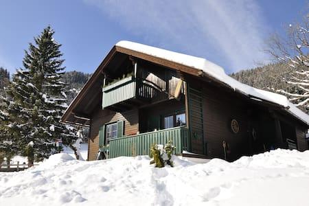 Bodentalhütte - Almchalet mit Sauna auf 1.200 hm - Ferlach - กระท่อมบนภูเขา