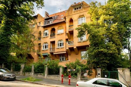 ROOM in a Hip Apartment #LibertyBridge#GellértHill - Budapest - Pis