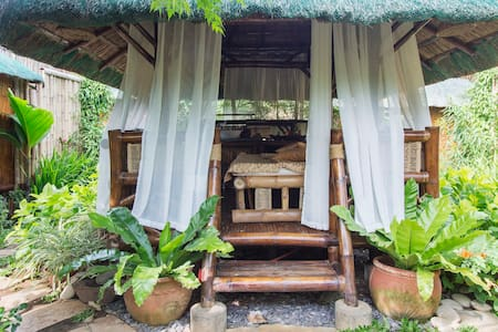 Bamboo Hut Homes in Palawan