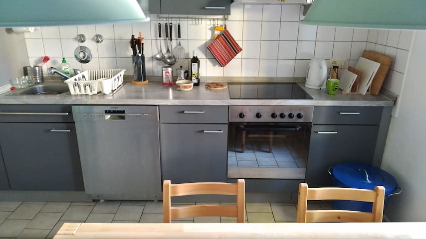 Spacious cosy apartment in the green Zehlendorf