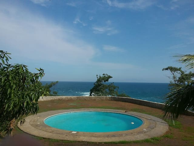 2 bds  cabin ocean front in chimo cabo corrientes
